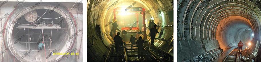 地铁隧道切割
